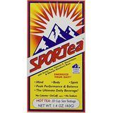 SPORTea(R) Hot: 20 Individual Tea Bags/Box Pack of 4
