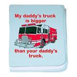 CafePress My Daddys Truck Baby Blanket, Super Soft Newborn Swaddle