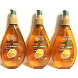 Garnier Fructis Haircare - Marvelous Oil Color Illuminate - 5-Action Hair Elixir - For Color-Treated Hair - Net Wt. 5 FL OZ (150 mL) Per Bottle - Pack of 3 Bottles