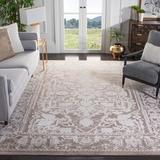 Laurel Foundry Modern Farmhouse® Calidia Beige/Cream Area Rug Polypropylene in Brown/White, Size 72.0 H x 48.0 W x 0.31 D in   Wayfair