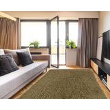 Latitude Run® Ransdell Handmade Flokati Wool Mushroom Area Rug Wool in Brown, Size 120.0 H x 84.0 W x 2.0 D in | Wayfair LTDR3465 40300813