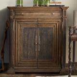 Hooker Furniture Hill Country Armoire Wood in Black/Brown, Size 50.25 H x 46.0 W x 19.0 D in   Wayfair 5960-50007-MULTI