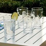 Wrought Studio™ Tufnell 6 Piece 23 oz. Acrylic Drinking Glass Set Plastic, Size 6.1 H x 3.6 W in | Wayfair MNTP2084 39884057