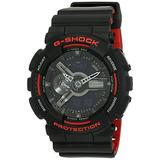 Casio Men's G-Shock GA110HR-1A Black Rubber Quartz Sport Watch