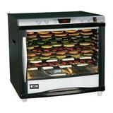 Weston 12 Tray Pro 1200-Digital Dehydrator in Black, Size 21.0 H x 23.5 W x 18.0 D in | Wayfair 28-0301-W