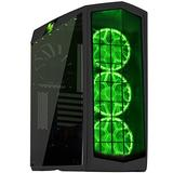 SilverStone Technology PM01C-RGB ATX Tower Case with RGB LED Fan Guards and Tempered Glass Flat Black