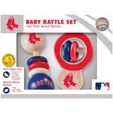 """""""Boston Red Sox Infant 2-Pack Wood Rattle Set"""""""