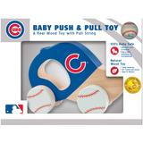 """Chicago Cubs Infant Push & Pull Toy"""