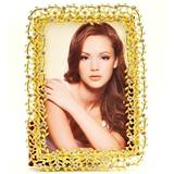 Rosdorf Park Glided Metal Single Picture Frame Metal in Yellow, Size 8.5 H x 6.25 W x 0.5 D in | Wayfair ROSP2046 39199062