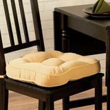 Greendale Home Fashions Hyatt Dining Chair Cushion, Size 2.0 H x 17.0 W x 17.0 D in | Wayfair CP5207S2-Cream
