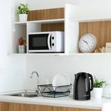 Black + Decker Plastic Electric Tea Kettle blackPlastic, Size 9.0 H x 8.0 W x 6.9 D in | Wayfair KE1500B