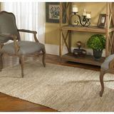 Brayden Studio® Neidig Hand-Woven/Tan Area Rug Cotton in Brown, Size 144.0 H x 108.0 W x 0.38 D in | Wayfair BYST2708 40463550