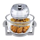 Big Boss 15.1 Liter Oil-Less Air Fryer Stainless Steel in Red, Size 13.5 H x 13.0 W x 14.0 D in   Wayfair 9063