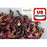 GROWN ORGANICALLY Premium Dried Hibiscus Tea,Hibiscus Flowers Tea,Jaimaica Tea,Fresh and best quality guarantee,UNBEATABLE QUALITY AT THIS PRICE!! (Beverage Cut Hibiscus Tea, 160 oz (10 LB))
