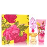 Betsey Johnson For Women By Betsey Johnson Gift Set - 3.4 Oz Eau De Parfum Spray + 6.7 Oz Body Lotio