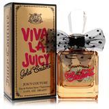 Viva La Juicy Gold Couture For Women By Juicy Couture Eau De Parfum Spray 3.4 Oz