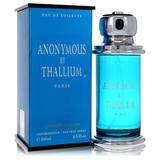 Thallium Anonymous For Men By Yves De Sistelle Eau De Toilette Spray 3.3 Oz