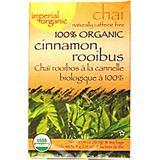 Uncle Lee's Imperial Organic Chai Tea Cinnamon Rooibus -- 18 Tea Bags - 2 pc