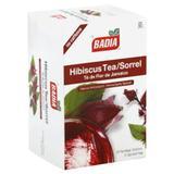 Badia Hibiscus Tea Bags Box Of 25 Bags (Pack of 10) - Pack Of 10
