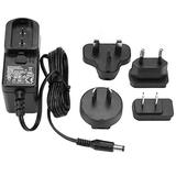 StarTech.com DC Adapter - 3A / 5V Power Adapter - Replacement Power Adapter - DC Power Supply - Universal Power Adapter - AC Adapter (SVA5N3NEUA) Black Mounting Screws