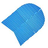 MonkeyJack 4 Pieces Non-Slip Diamond Grooved EVA Dog Pet Paw Traction Pads Deck Grip Mat Tail Pads Customizable for SUP Surfboard Stand Up Paddle Board - Sky Blue