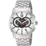 ROBERTO BIANCI WATCHES Men's Lombardo Quartz Watch with Stainless-Steel Strap, Silver, 24 (Model: RB70962)