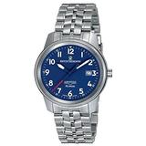 Revue Thommen Air Speed XLarge Self Winding Blue Dial Swiss Watch - Stainless Steel Swiss Automatic Dress Watch for Men 16052.2135