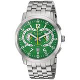 ROBERTO BIANCI WATCHES Men's Lombardo Quartz Watch with Stainless-Steel Strap, Silver, 23.8 (Model: RB70961)