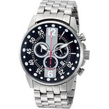 ROBERTO BIANCI WATCHES Men's Messina Stainless Steel Quartz Watch with Stainless-Steel Strap, Silver, 14 (Model: RB70981)
