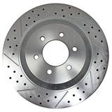 "BAER BRAKES 2261029-BKCZ Brake Rotor (15"" Front 04-08 Ford F150 2WD EradiSpeed1 Rotor Upgrade), 1 Pack"
