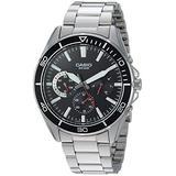 Casio Men's MTD-320D-1AVCF Sports Analog Display Quartz Silver Watch