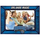 """Orlando Magic Horizontal Art Glass Frame"""