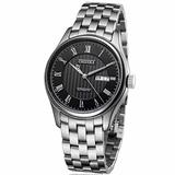 Caluola Automatic Men Watch Business Watches with Day-Date Fashion Watch CA1092M