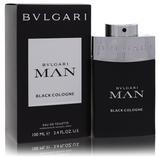 Bvlgari Man Black Cologne For Men By Bvlgari Eau De Toilette Spray 3.4 Oz