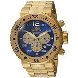 Invicta Men's Pro Diver Quartz Watch with Stainless-Steel Strap, Gold, 29.3 (Model: 25077)