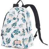 School Backpack Laptop Bag Girl Kid Boy Teens Bookbag Travel Daypack Banana Leaf