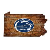 """""""Penn State Nittany Lions 23.5"""""""" x Distressed with Logo Sign"""""""