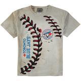 Toronto Blue Jays Youth Hardball T-Shirt - Cream