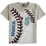 Seattle Mariners Youth Hardball T-Shirt - Cream