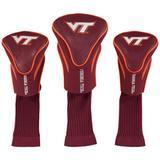 Virginia Tech Hokies 3-Pack Contour Golf Club Head Covers