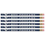 WinCraft BYU Cougars 6-Pack Pencils