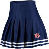 Women's ZooZatz Navy Auburn Tigers Rah Cheer Skirt
