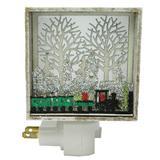 """Roman 60558 - 5.5"""" Train """"Paper Cut"""" Night Light (5.5""""train papercut wall night)"""