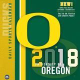 """Oregon Ducks 2018 Box Calendar"""
