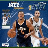 """Utah Jazz 2018 12"""" x Team Wall Calendar"""