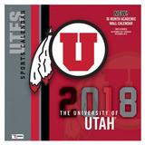 "Utah Utes 2018 12"" x Team Wall Calendar"