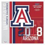 """Arizona Wildcats 2018 12"""" x Team Wall Calendar"""