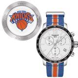 New York Knicks Tissot Quickster Quartz Chronograph - Blue