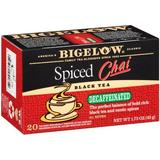Bigelow Decaffeinated Spiced Chai Tea, 20-Count Boxes (Pack of 6) by Bigelow Tea