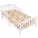 Mellanni Toddler 3 Piece Set Cars - Includes Fitted Sheet, 2 Pillowcases Standard and Toddler - Fits Baby Crib Too - Super Soft Kids Bedding (3 Piece Todler Set, Cars)